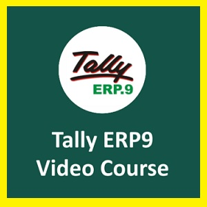 TALLY ERP 9 With GST Online Tutorials course logo
